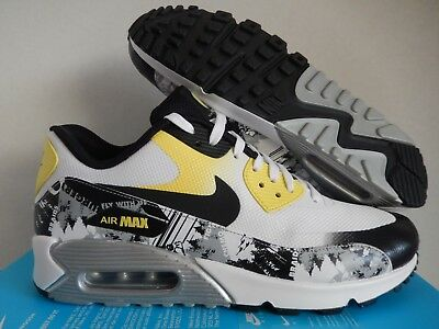 c7ca2c58471cd Wmns Nike Air Max 90 Premium Db Doernbecher White-Yellow Sz 9.5 [838767-