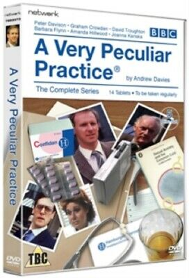 A Very Peculiar Practice Season 1 2 Series One Two (Peter Davison) Region 2 DVD