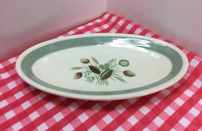 Small Vintage Wood & Sons, Woods Ware Plate With Clovelly Pattern c1960