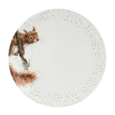 Wrendale By Royal Worcester - Squirrel Dinner Plate - 10.5""