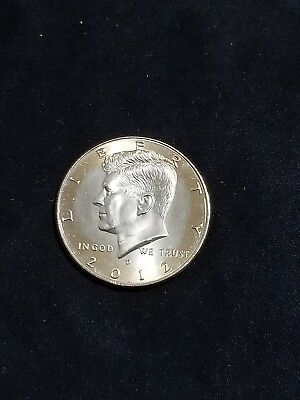2012 D President Kennedy Half Dollar Fifty Cent Coin Money U.S. Mint Roll Coins