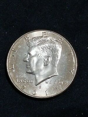 2011 D President Kennedy Half Dollar Fifty Cent Coin Money U.S. Mint Roll Coins