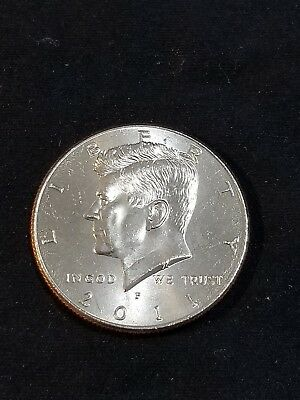 2011 P President Kennedy Half Dollar Fifty Cent Coin Money U.S. Mint Roll Coins