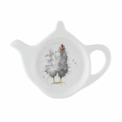 Wrendale By Royal Worcester - Curious Hen Teabag Tidy