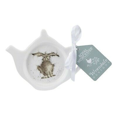 Wrendale By Royal Worcester - Hare-Brained Hare Teabag Tidy