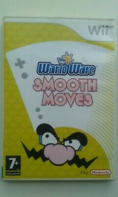 Warioware Smooth Moves Great Rare Nintendo Wii Game Complete With Manual Vgc Pal