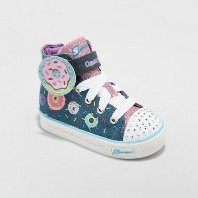 2e433aec8a62 SKECHERS NWT TODDLER Girl 5 6 7 8 9 11 Light Up Twinkle Toes Shoes ...