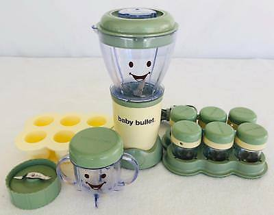 Magic Bullet Baby Bullet Baby Food Maker and Storage Cubes Baby Care System