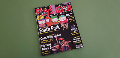 Playstation Pro Magazine - Issue 37 - August 1999 *South Park Cover*