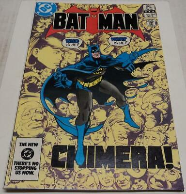 BATMAN #364 (DC Comics 1983) CHIMERA (FN/VF) Don Newton art