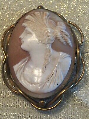 GORGEOUS Victorian Antique Cameo - HUGE!