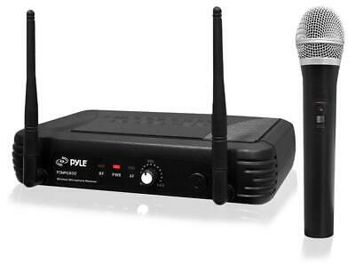 PylePro Professional UHF Wireless Handheld Microphone System with Selectable Fre