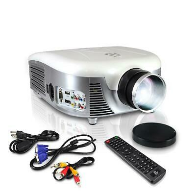 PyleHome Widescreen Digital Multi-Media LED Projector, 1080p Support, Up to 140'