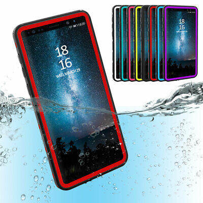 Waterproof Phone Case with Built-in Screen Protector For Samsung Galaxy Note 9