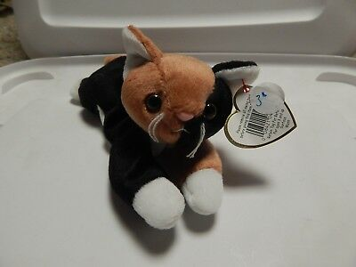 4584b17b54d TY BEANIE BABY Chip The Calico Cat RETIRED -  7.00