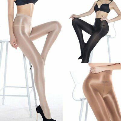 Super Elastic Plus Size Pantyhose 70D Oil Shiny High Glossy Sexy Stocking Tights
