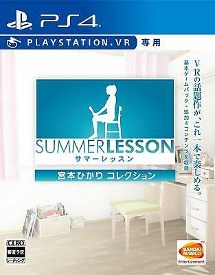 PS4 Summer Lesson: Miyamoto Hikari Collection VR only Japan F/S