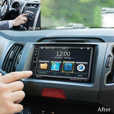 EXCELVAN 7021G CAR MP5 Player Touch Screen 7 inch GPS Full IR Remote Control