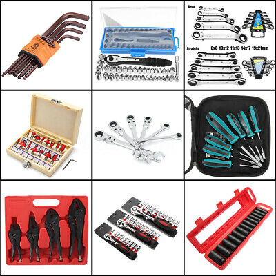 9 Styles Flexible Wrench Spanner Combination Tools Ball Allen Key Hexagon