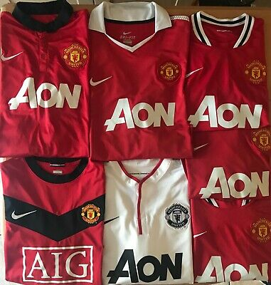 Manchester United Football Shirt, All Sizes, All Seasons, Champions League