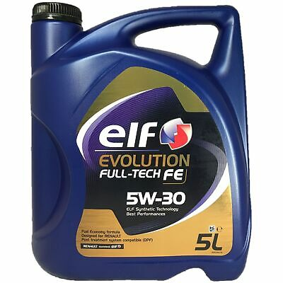 5 Liter elf EVOLUTION FULL-TECH FE 5W-30 RN 0720 MB 226.51 ACEA C4 DPF