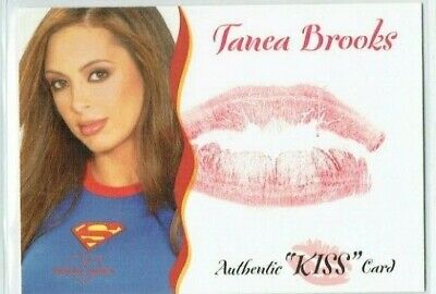 Benchwarmer 2004 Tanea Brooks Kiss Card