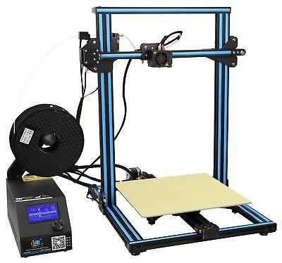 Creality CR-10(S) 3D Printer (Blue) Build Area: 300x300x400mm Heated Bed