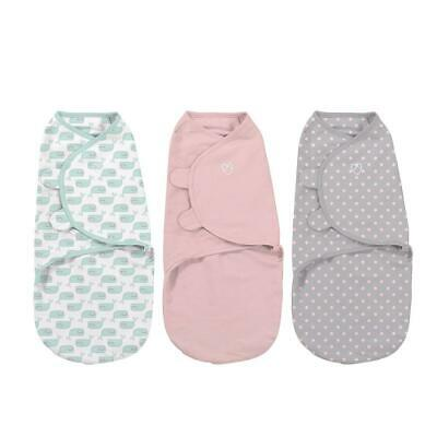 Summer Infant SwaddleMe Original Swaddle - Small/Med - 3 Pack - Wonderous Whales