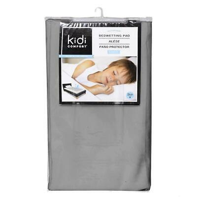Kidicomfort Washable and Waterproof  3 layers Toddler Pad 60 X 30 - Grey