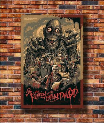 C941 Art Return of the Living Dead Classic Horror Movie 24x36in Poster Hot Gift