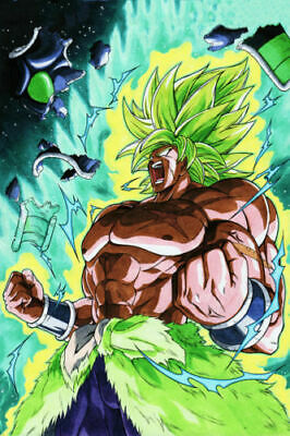 C379 Dragon Ball Super Broly Movie Hot Japan Anime 24x36'' Art Silk Poster