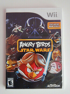 Angry Birds Star Wars Game Complete! Nintendo Wii