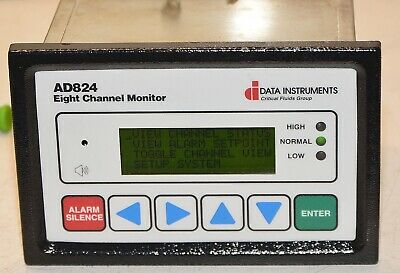 DATA Instruments AD824 8 Channel Monitor Logger 2228301