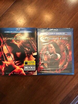 The Hunger Games & The Hunger Games Catching Fire (Blu-ray Disc)