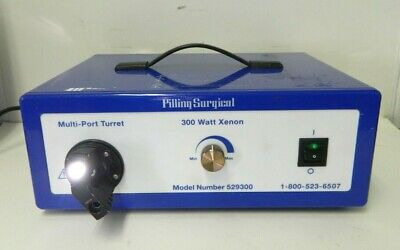 Pilling Surgical 529300 300 Watt Xenon Multi-Port Turret