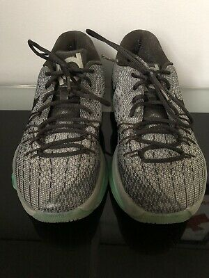 6ce5e2277636 NIKE KD 8 VIII Mens Sz US 8 Hunt s Hill Pewter Grey Green Glow ...