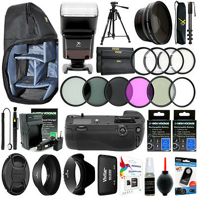 Nikon D7100 DSLR Camera Everything You Need 67MM Accessory Kit