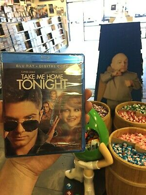 Take Me Home Tonight Blu-ray + DVD Digital combine shipping with MOVIES & CANDY