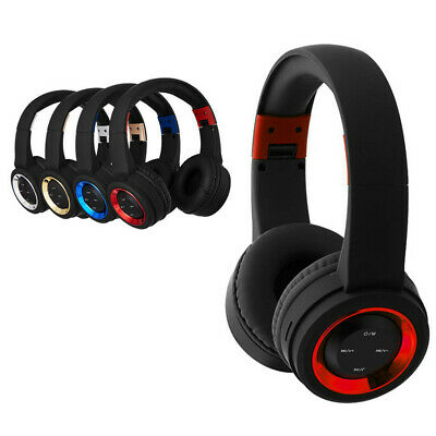 Wireless Headphones Bluetooth Headset Noise Cancelling Over Ear With Mic