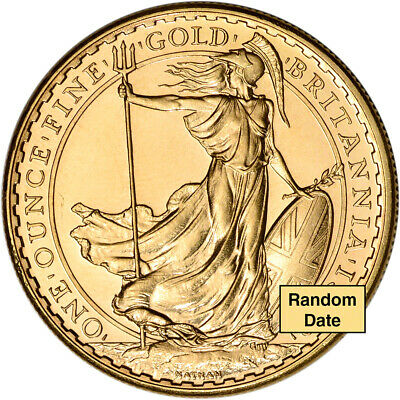 Great Britain Gold Britannia £100 - 1 oz - BU - Random Date