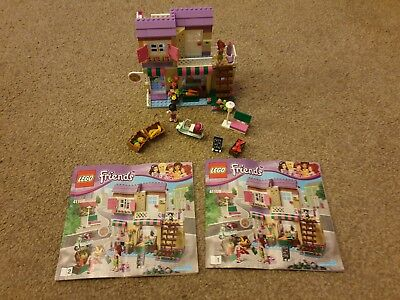 Lego Friends 41108 Heartlake Food Market With Box And Instructions