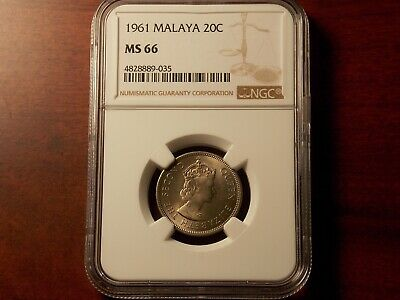 1 Coin Only 50 Available 1962 Malaya /& British Borneo 1 Cent UNC Examples!