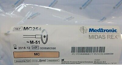 Medtronic MIDAS REX # MC254 M-51 MC Legend Dissecting Tool Attachment