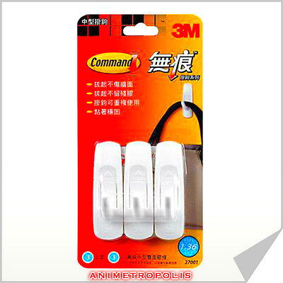 2PACK=16PCS of 3M COMMAND SELF ADHESIVE small STRIPS max. load//strip=225g