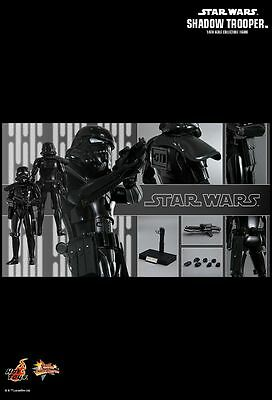 Hot Toys MMS271 Star Wars Episode IV A New Hope Shadow Trooper Figure FAST New