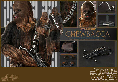Hot Toys MMS262 Star Wars Episode IV A New Hope Chewbacca 12inch Figure Fast New