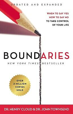 Boundaries Updated and Expanded Edition Paperback by Henry Cloud Codependency