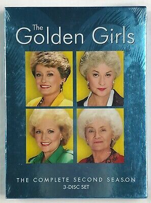 The Golden Girls - The Complete Second Season 2 Two (DVD, 2005, 3-Disc Set)