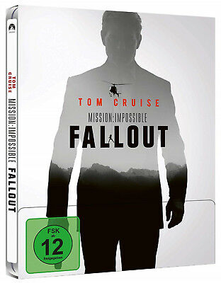 Mission Impossible - Fallout - Limited Steelbook Edition (2xBlu-ray) NEU&OVP!