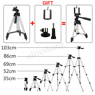 Universal Telescopic Camera Tripod Stand Holder Mount For Phone iPhone Samsung ❤
